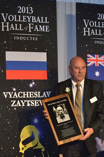 Вячеслав Зайцев введён в Зал славы мирового волейбола