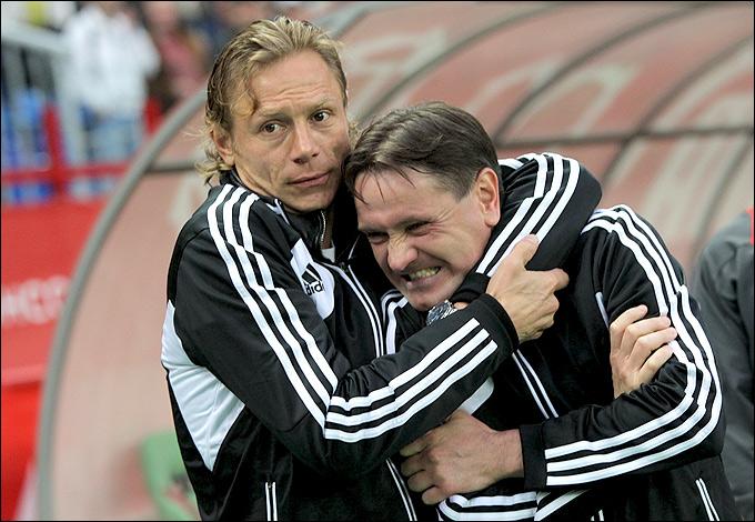 Валерий Карпин и Дмитрий Аленичев