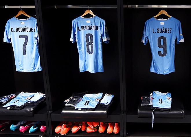 Сборная Уругвая без Луиса Суареса — совсем другая команда
