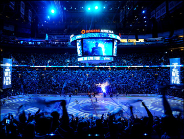 "1 мая 2013 года. Ванкувер. Плей-офф НХЛ. 1/8 финала. Матч № 1. ""Ванкувер"" — ""Сан-Хосе"" — 1:3. ""Роджерс Арена"""