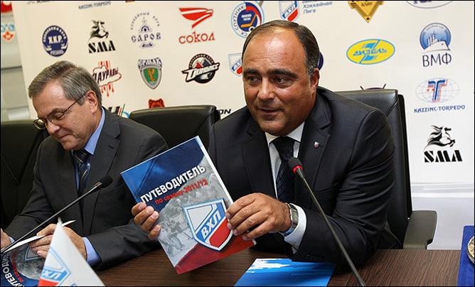 Руководство Высшей хоккейной лиги провело пресс-конференцию