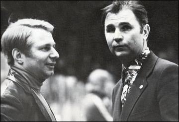 Юрий Моисеев и Виктор Тихонов