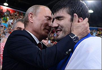Владимир Путин и Тагир Хайбулаев