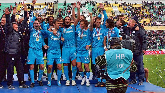 """""""Зенит"""" — обладатель Суперкубка России — 2011"""