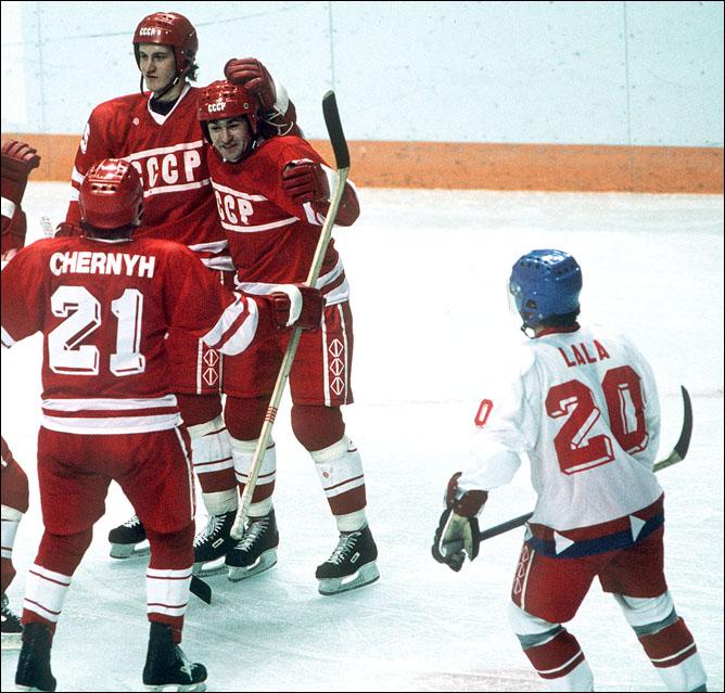 Хоккей. История чемпионатов мира. ЧМ-1989-1990. Фото 04.