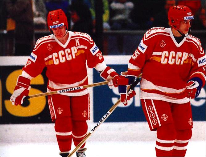 Хоккей. История чемпионатов мира. ЧМ-1989-1990. Фото 08.