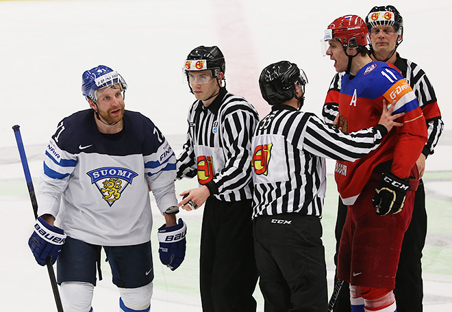 Россия — Финляндия — 2:3Б (0:1)