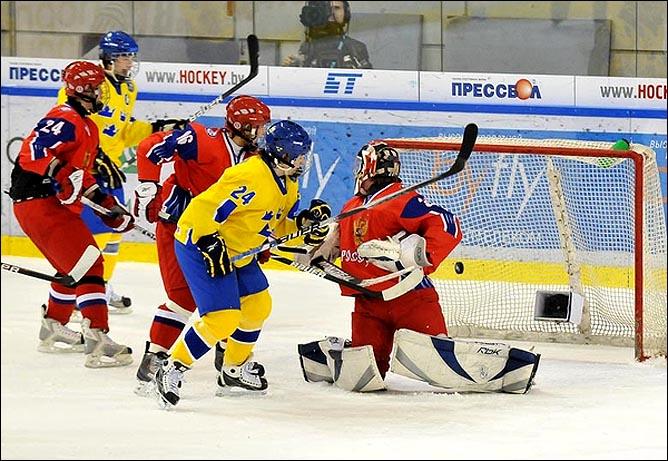 21.04.2010. Чемпионат мира U-18. Россия - Швеция - 1:3. Фото 03.
