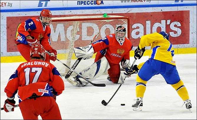 21.04.2010. Чемпионат мира U-18. Россия - Швеция - 1:3. Фото 04.