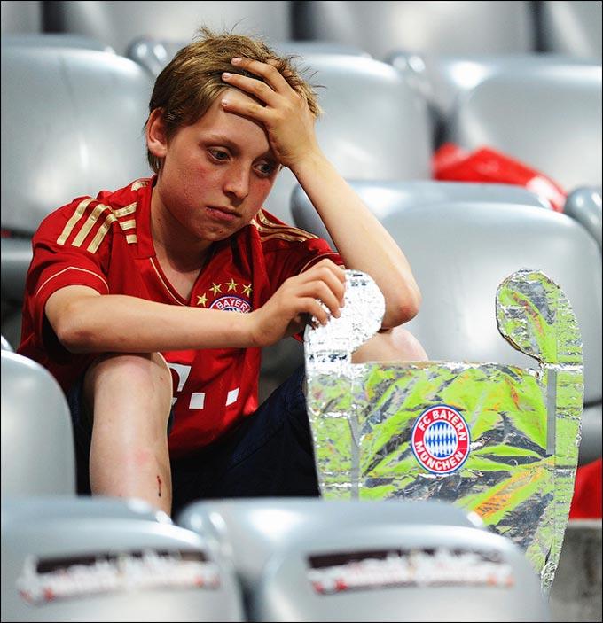 Все мы в детстве плакали после поражений любимых команд