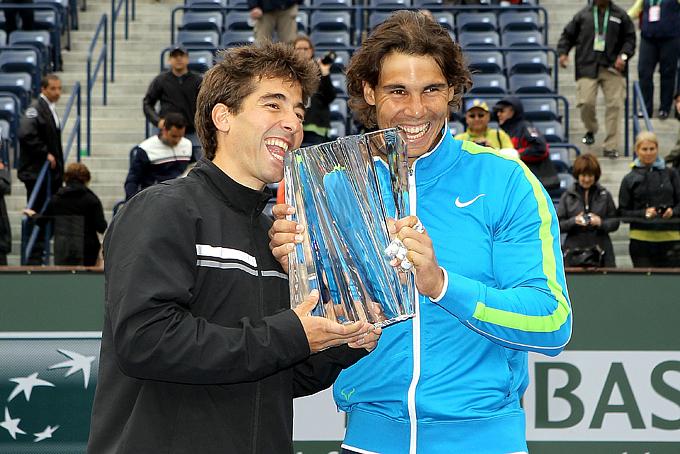 Рафаэль Надаль и Марк Лопес второй раз выиграли парный турнир в Индиан-Уэллсе