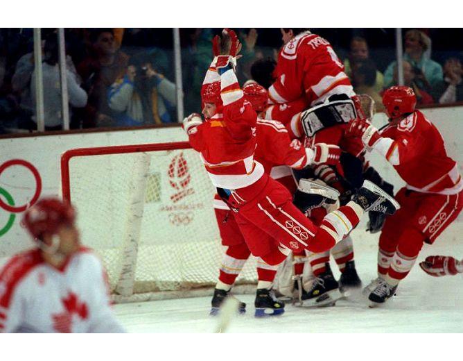 Хоккей. История чемпионатов мира. ЧМ-1991-1992. Фото 05.