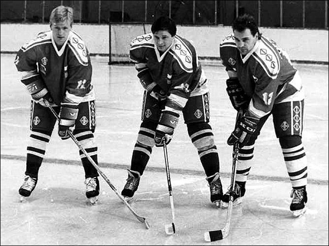 Хоккей. История чемпионатов мира. ЧМ-1991-1992. Фото 07.