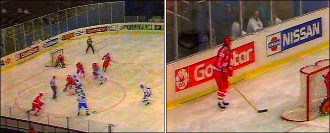 Хоккей. История чемпионатов мира. ЧМ-1991-1992. Фото 08.