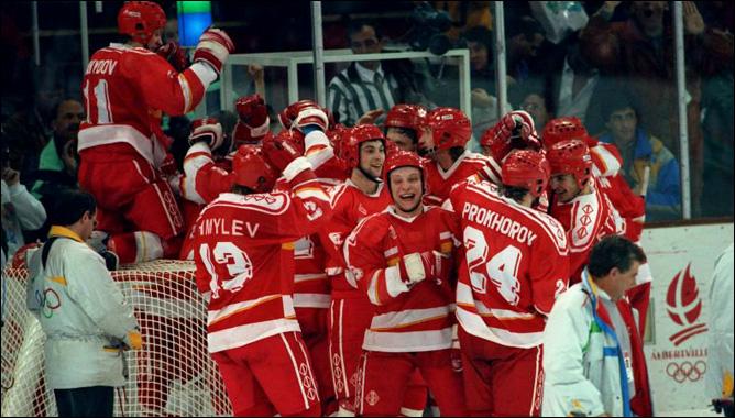Хоккей. История чемпионатов мира. ЧМ-1991-1992. Фото 11.