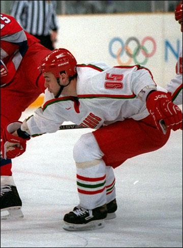 Сергей Стась на Олимпиаде-1998 в Нагано