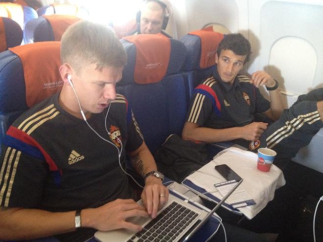 Понтус Вернблум и Роман Ерёменко летят в Манчестер