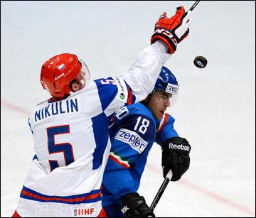 Илья Никулин против сборной Италии