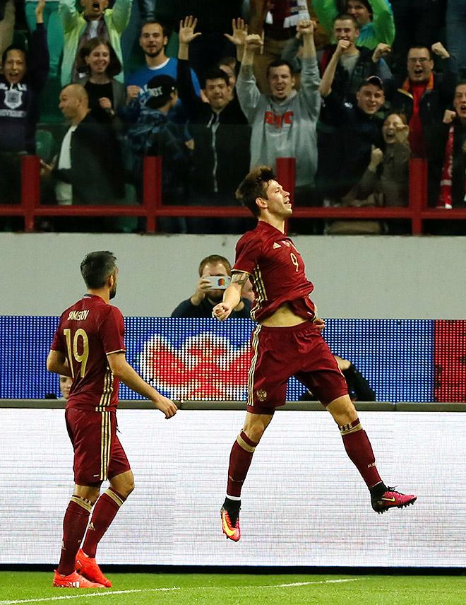 Россия - Гана - 1:0