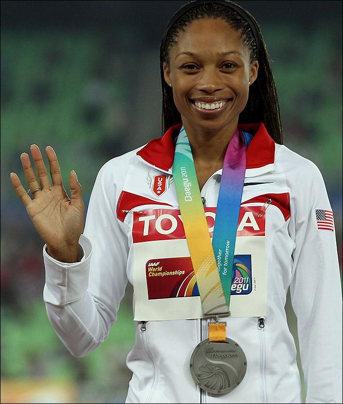 Феликс стала 8-кратной чемпионкой мира