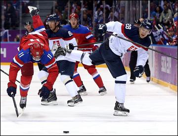 16 февраля 2014 года. Сочи. XXII зимние Олимпийские игры. Хоккей. Групповой этап. Россия — Словакия — 1:0 (ПБ)