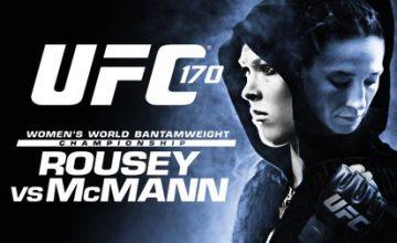 Постер к турниру UFC 170.