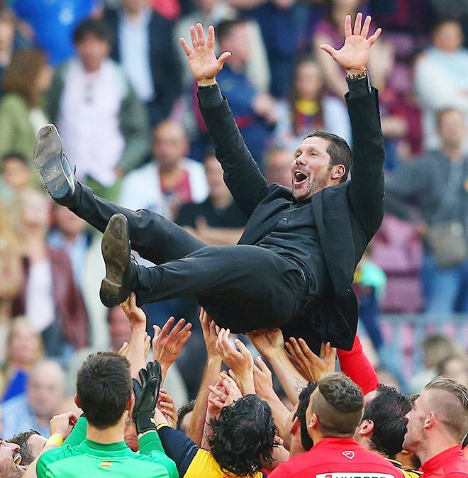 Диего Симеоне имеет шанс стать первым тренером-неевропейцем, выигравшим Лигу чемпионов