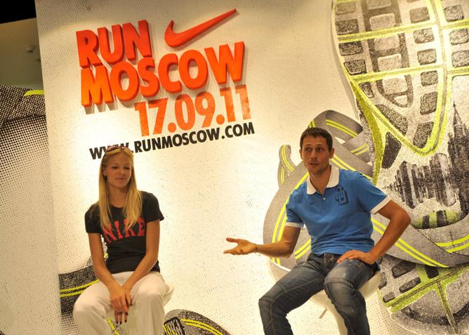 Юрий Борзаковский и Дарья Клишина