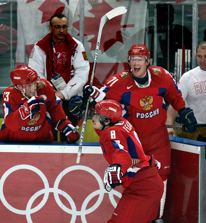 Олимпийские игры — 2006 в Турине. Россия — Канада — 2:0