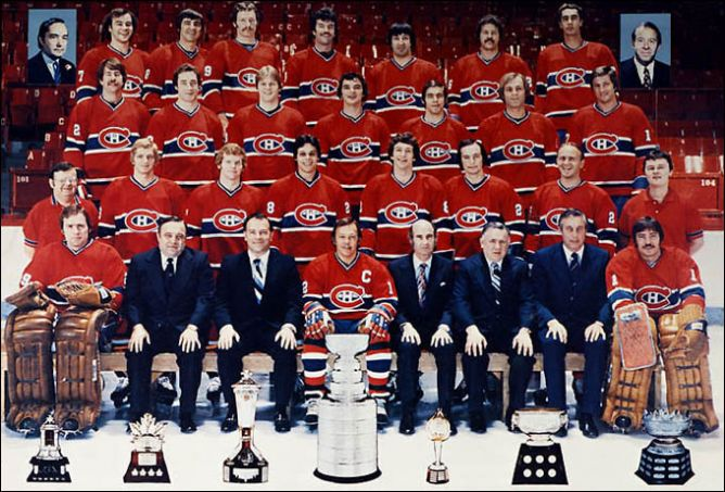 """Обладатели Кубка Стэнли 1978 года - """"Монреаль Канадиенс""""."""