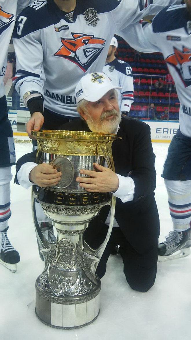 Кубок Гагарина и Геннадий Величкин