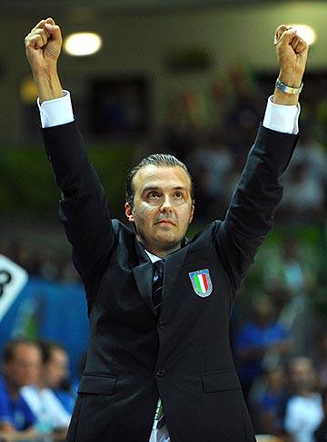 Главный тренер сборной Италии Симоне Пьяниджани