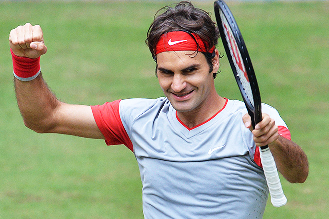 Федерер завоевал седьмой титул в Галле