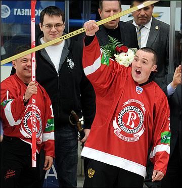 С бойцами в Чехове полный порядок, осталось добрать хоккеем