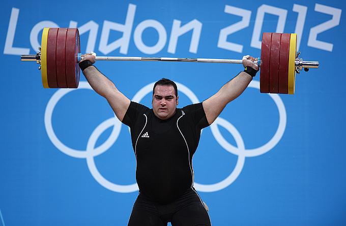Лондон-2012. Тяжёлая атлетика. Бехдад Салимикордасиаби