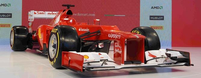 """""""Феррари"""" показала свою машину на новый сезон — F2012"""
