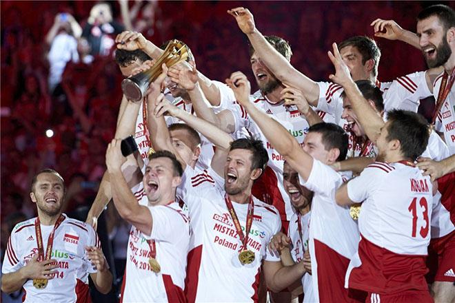 В 2014 году Польша победила на чемпионате мира