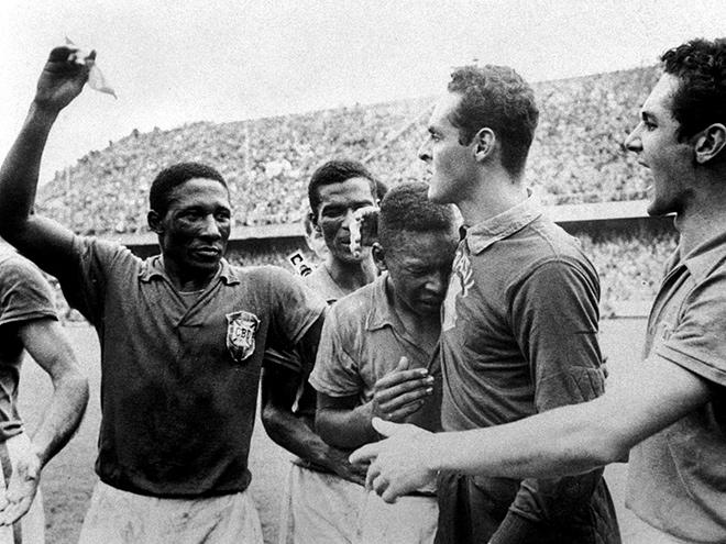 Пеле на чемпионате мира 1958 года