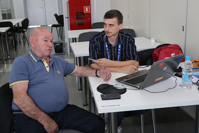 Владимир Камельзон и Даниил Сальников