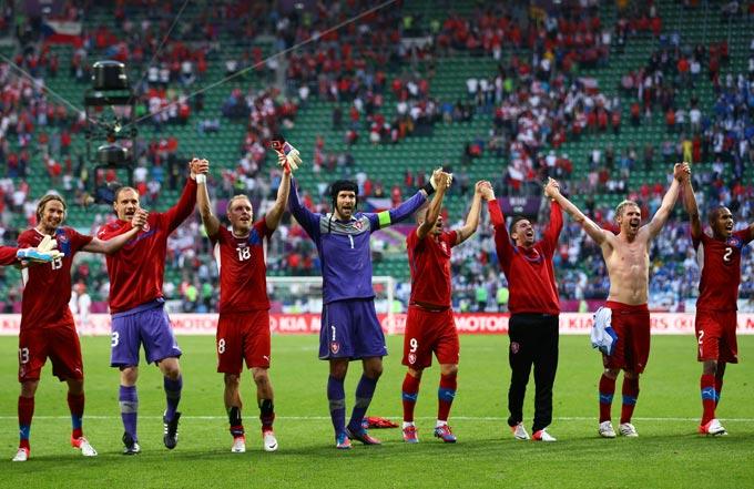 Сборная Чехии победила Грецию
