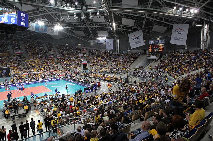 В Польше волейбол на равных соперничает с футболом