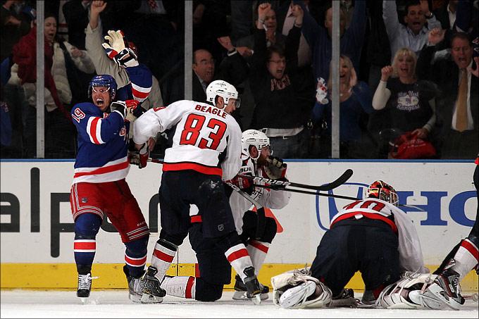 "8 мая 2012 года. Санрайз. Плей-офф НХЛ. 1/4 финала. ""Нью-Йорк Рейнджерс"" — ""Вашингтон Кэпиталз"" — 3:2 (ОТ)"