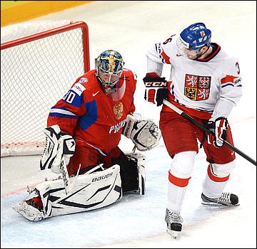 Петр Часлава против сборной России