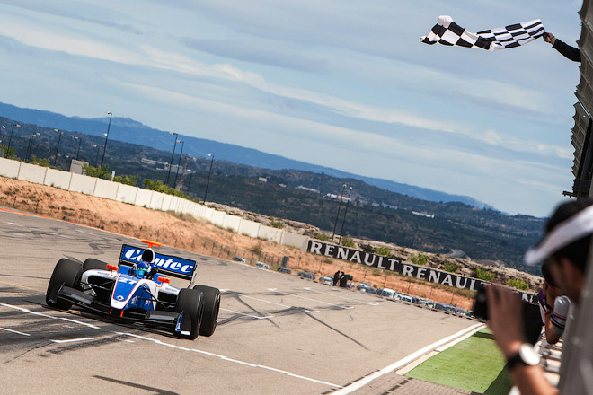Марценко финиширует вторым в Арагоне