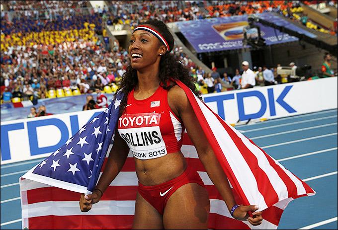 Ролинз впервые стала мировой чемпионкой