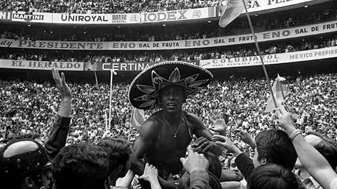Пеле на чемпионате мира 1970 года