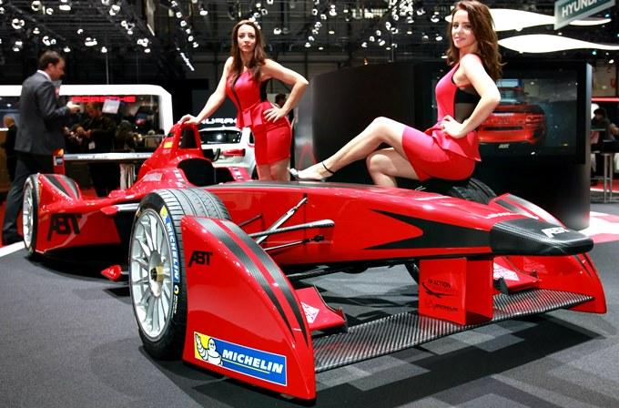 Болид Формулы-Е от Abt (фото пресс-службы Abt)