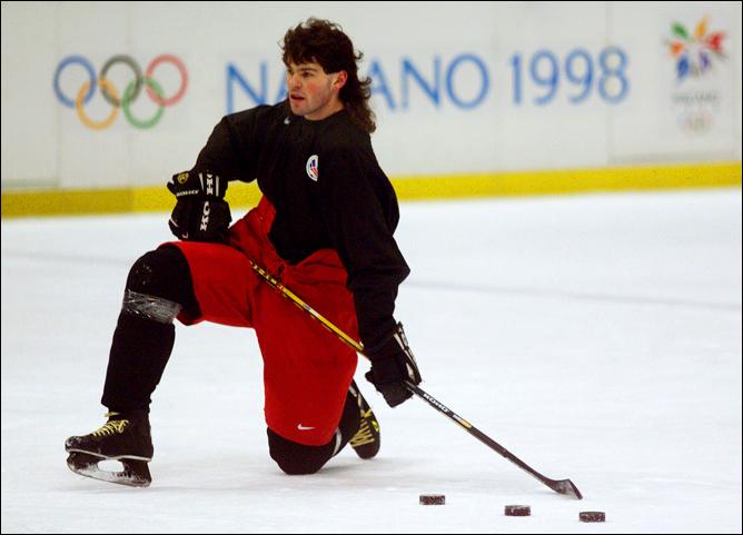 Топ-100 историй ИИХФ. История № 7. НХЛ берет перерыв и отпускает игроков на Олимпиаду–1998. Фото 01.