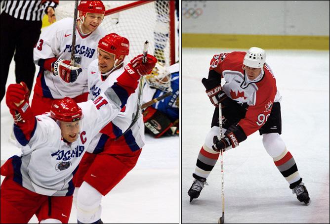 Топ-100 историй ИИХФ. История № 7. НХЛ берет перерыв и отпускает игроков на Олимпиаду–1998. Фото 02.