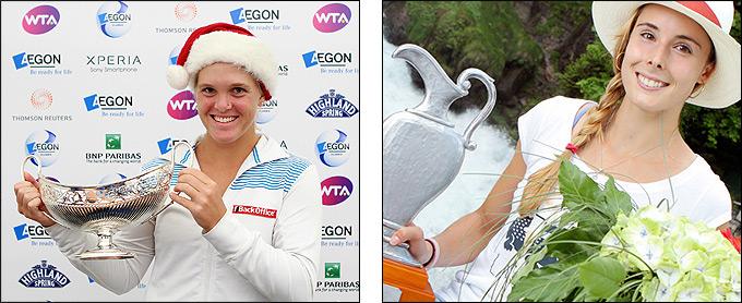 Корне завоевала свой второй титул, Уден – первый.
